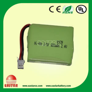 AAA 600mAh Ni-MH Battery Rechargeable Battery for Electronic Toys pictures & photos