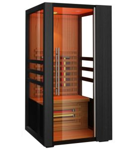 china mini one person sauna wooden house eagle jk 8101. Black Bedroom Furniture Sets. Home Design Ideas