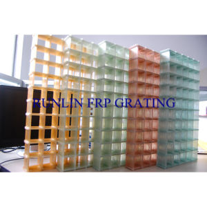 Transparent Curtain Wall Colorized
