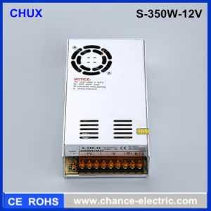 DC LED Switching Mode Power Supply 350W 30A 12V Output (S-350W-12V)