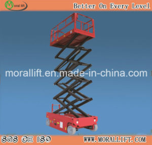 12m Lifting Height Self-Propelled Scissor Lift (SJYZ) pictures & photos