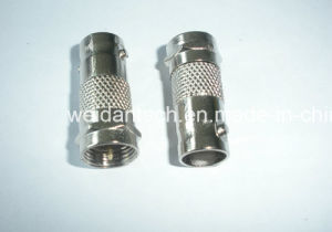 F Plug to BNC Female Converter Adapter pictures & photos