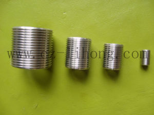 "3/8"" Stainless Steel 316 DIN2999 Close Nipple From Pipe pictures & photos"