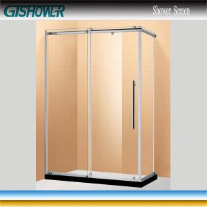 Sliding Corner Glass Shower Cabinet (BF0831L) pictures & photos