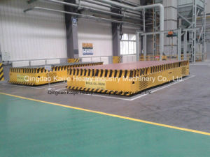 Trackless Electric Flatcar / Trackless Flactcar Supplier/Flatcars/Hot Sale Flatcar pictures & photos