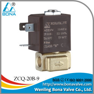 "1/8"" 2/2 Way Nc Small Solenoid Valve (ZCQ-20B-09) pictures & photos"