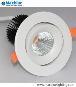 Hole 90mm COB LED Ceiling Down Light with Brand Meanwell Driver pictures & photos