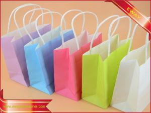 Paper Shopping Bag Clothing Paper Packing Gift Bag pictures & photos