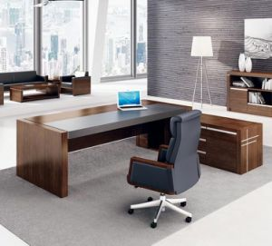 Fsc Certified MDF High End Modern Desk, Executive Desk, Office Table pictures & photos