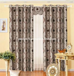 Hot Sale Printed Blackout Grommet Panel/Curtain (SZSMEBP032)