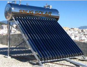 High Quality Unpressurized Stainless Steel Solar Water Heater pictures & photos