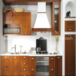 2016 Welbom Popular Solid Wood & Plywood Kitchen Cabinet pictures & photos