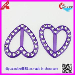 Belt Buckle with Diamond, Fashion Dress Buckle (XDJZ-136) pictures & photos