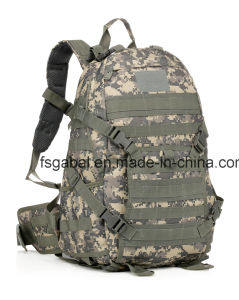 Tad Style Camouflage Military Tactical Assault Sports Travel Backpack pictures & photos