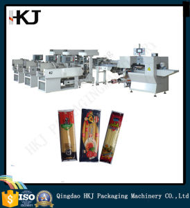 High Quality Automatic Noodle Pillow Packing Machine with Three Weighers pictures & photos