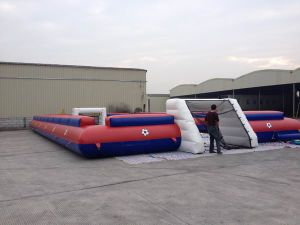 New Design Kids Cheap Human Table Football for Sale (RB10021) pictures & photos