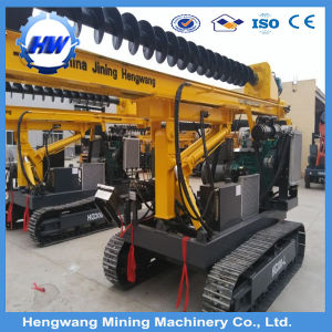 Construction Hydraulic Auger Drilling Rig Screw Pile Driver pictures & photos