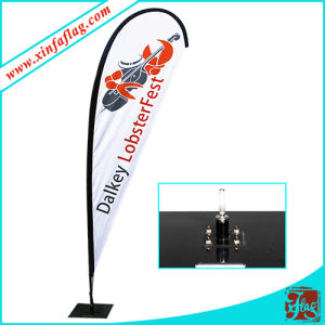 Polyesterhigh Quality Teardrop Feather Flag Banner pictures & photos