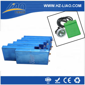 3.2V 12ah Li-ion Battery for Miner′s Lamp / Headlamp and Power Tool (LAF3.2V/12AH)