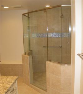 Clear Safety Polished Edge Tempered Glass for Shower Door Glass pictures & photos