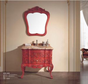 Luxury Bathroom Sanitary Ware Furniture Classical Vanity (ADS-624) pictures & photos