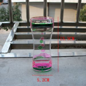 Acrylic Colorful Liquid Motion Hourglass (MQ-ACH01) pictures & photos
