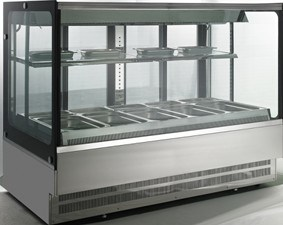 Square Cold Bain Marie Showcase (FGCB1000LS) pictures & photos
