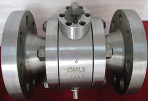Flange Two or Three Piece Ball Valve Pressure From 150lb--1500lb