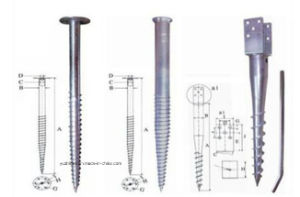HDG Ground Anchor, Ground Screw for Solar Engrgy, Ground Screws pictures & photos