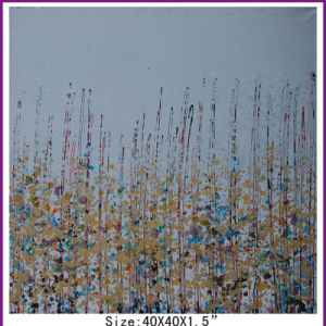 Abstract Home Decor Flower Grass Oil Painting on Canvas (LH-700580) pictures & photos