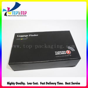 Black Rigid Gift Box with Foam Insert pictures & photos