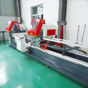 Double Aluminum Saw for Cutting Window Door Profile