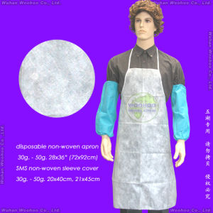 Disposable Non-Woven Apron pictures & photos