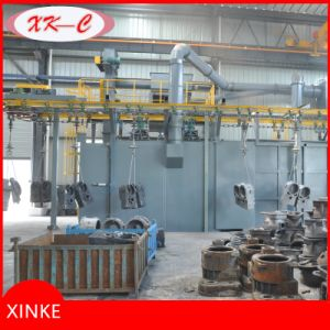 Continuous Hook Type Wheel Shot Blasting Machine pictures & photos