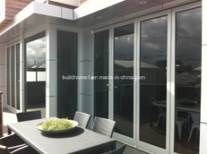 Low E Glass Super Smoothtech Folding Aluminium Doors pictures & photos