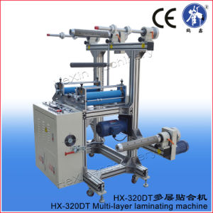 Automatic Multi-Layer Vinyl Laminating Machine with 7 Shafts pictures & photos
