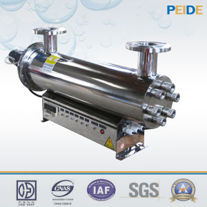 Inline UV Sterilizer for Fresh Water Breeding Water Disinfection pictures & photos