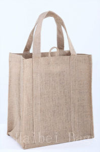 Jute Shopping Bag (hbjh-31) pictures & photos