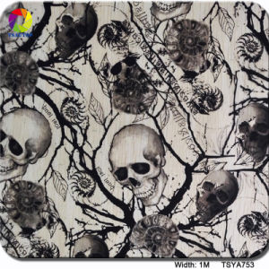 Tsautop 1m Tsya753 Skulls Water Soluble Paper/Transfer Printing Film pictures & photos