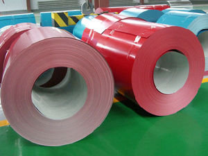 From China Mill Color Coated Corrugated Steel Coils/Sheets/PPGI PPGL pictures & photos