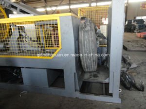 Tire Recycling Plant/Tire Shredder Waste Tyre Recycling Machine pictures & photos