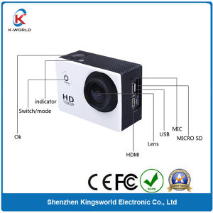 Promotion Hottest Action Cam Waterproof Sport DV Sport Camera pictures & photos
