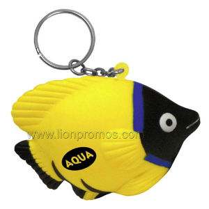 PU Animal Fish Model Stress Reliever Key Chain pictures & photos