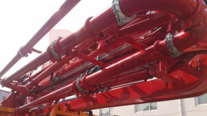 Cheap New Design 33m Placing Height Concrete Pump Truck with Boom pictures & photos