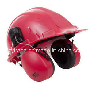 Site Hard Hat Head Protective Earmuff Chainsaw Safety Helmet pictures & photos
