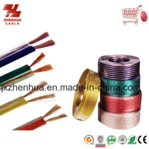 Transparent and Color High Quality Ofc Audio Video Cable pictures & photos
