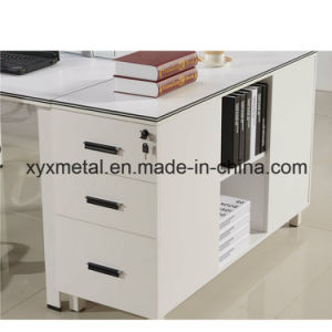 4 Seater Face to Face Laptop Display Office Staff Workstation Desk with Metal Base (GT-DA05B) pictures & photos