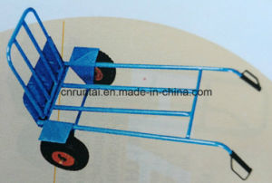 Heavy Duty Two Wheels Steel Hand Truck/Hand Trolley pictures & photos
