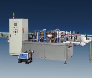 CE Approved Automatic Linear Hot Melt Glue Labeling Machine (HMGL-500A) pictures & photos