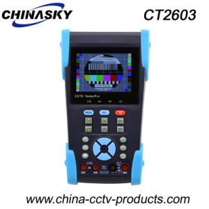 "3.5"" CCTV Security Camera Tester with Digital Multimeter (CT2603) pictures & photos"